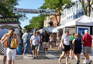 Ann Arbor Summer Art Fair 2011
