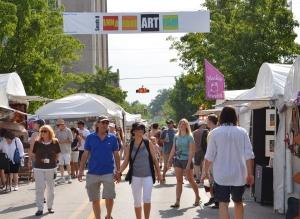 Ann Arbor's South University Art Fair 2011