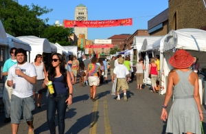 Ann Arbor State Street Area Art Fair 2011