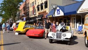 1955 MG, 1994 Corvette, 1970 Ferrari