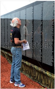 Vietnam wall guy