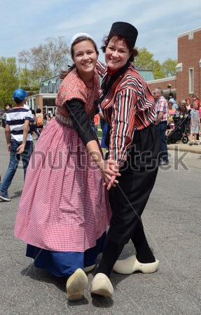 Shooting stock photos – Tulip Time Festival in Holland, MI