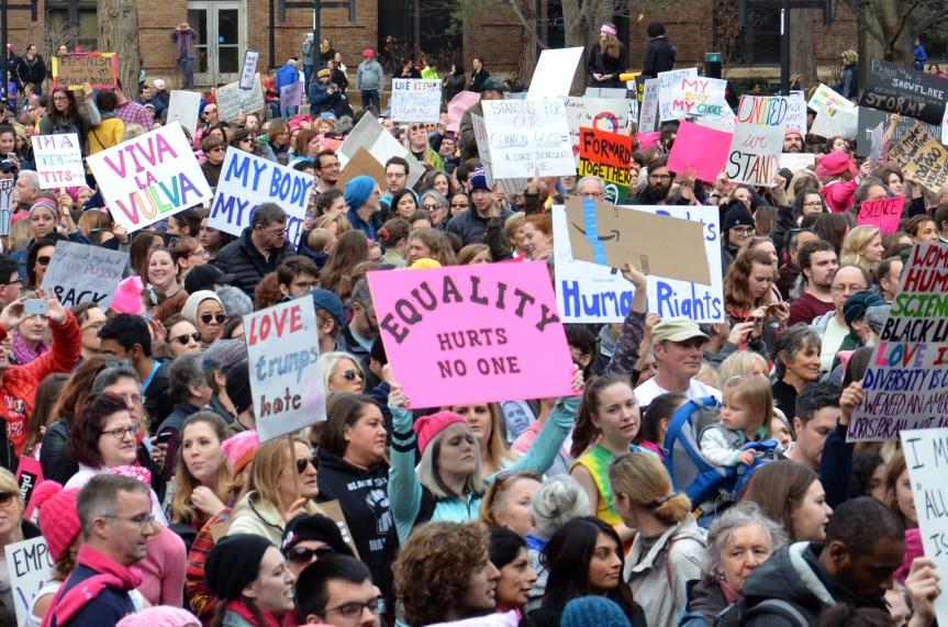 Women's March Ann Arbor 2017