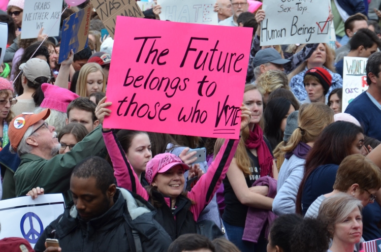 Women's March Ann Arbor 2017