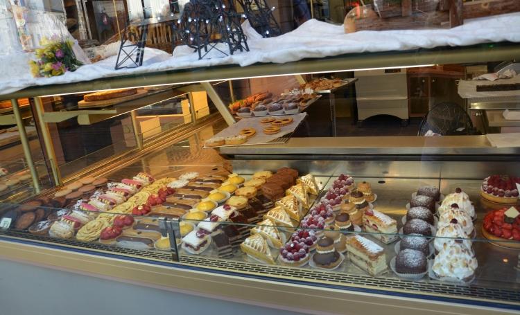 Pastries at the Bretteau Jean-Marie  Patisserie, Paris