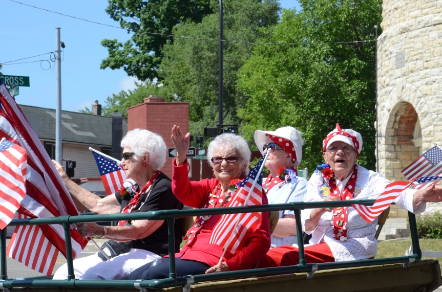 Shooting stock photos – 4th of July Parade in Ypsilanti